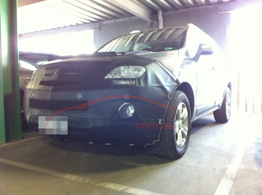 2011 Holden Captiva 5 Spy Photos