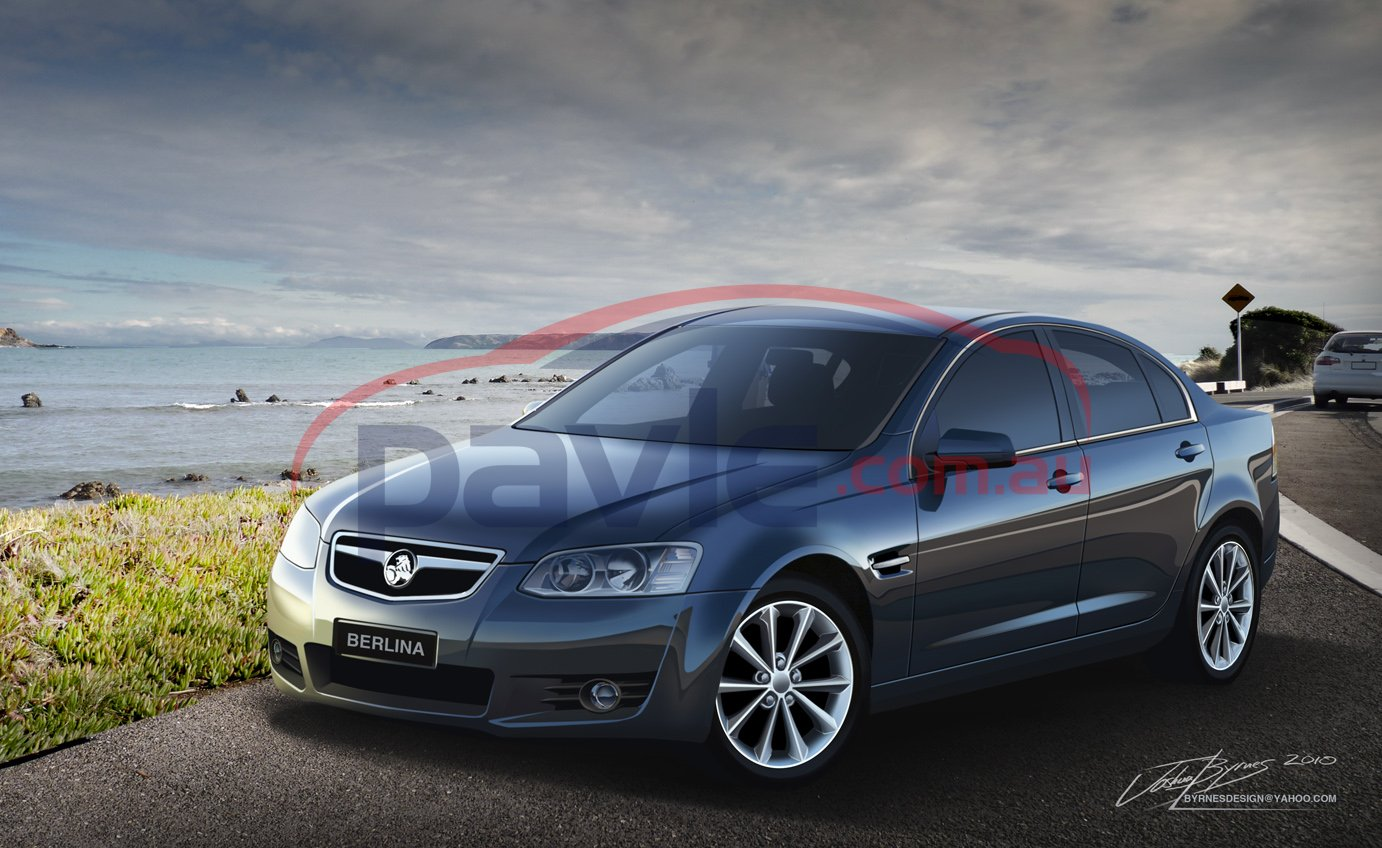 2011 Holden Commodore VE Series 2 Berlina Front