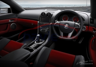 2011 Holden Commodore VE Series 2 SS V-Series Interior