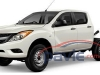 2011 Mazda BT-50 Cab Chassis Spy Photos