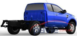 2011 Ford Ranger Cab Chassis Spy Photos